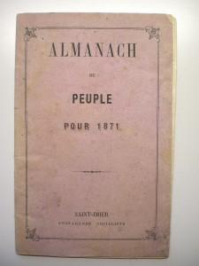 almanach du peuple 1871
