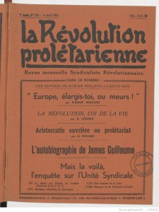 Révolution prolétarienne