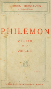 Descaves Philémon 1913
