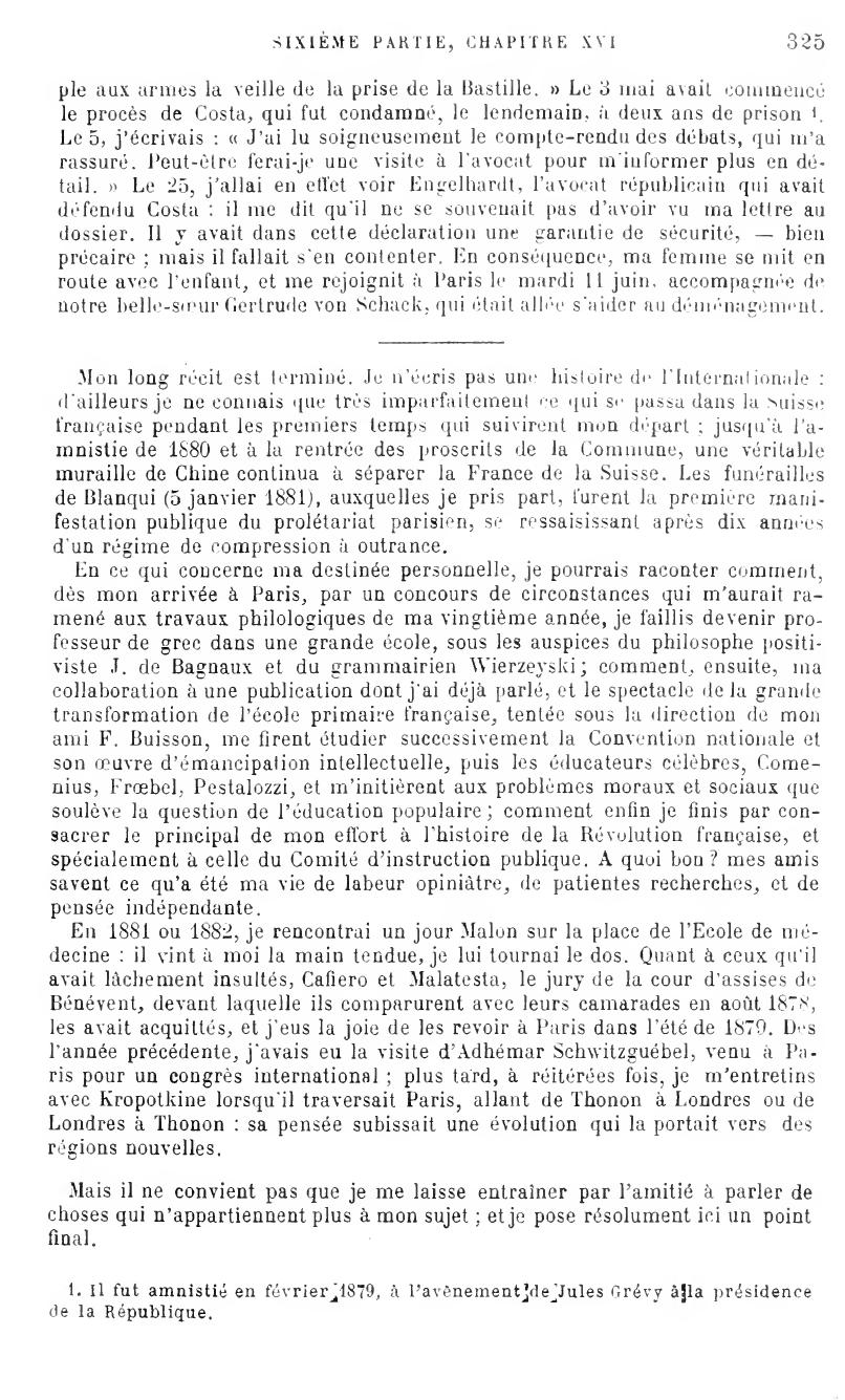 Conclusion Internationale
