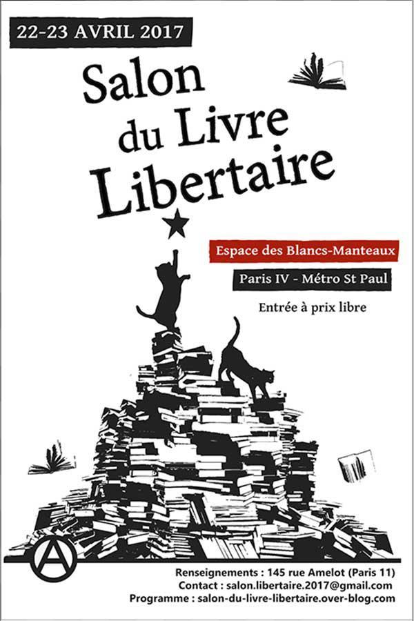 Ob 082275 salon du livre libertaire 2017 james guillaume for Salon du livre 2017